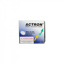 ACTRON EFFERVESCENT 30 COMPRIMES BAYER