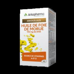 ARKOGÉLULES® BIO HUILE DE FOIE DE MORUE X220 ARKOPHARMA