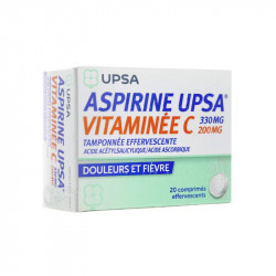 UPSA ASPIRINE 330 MG...