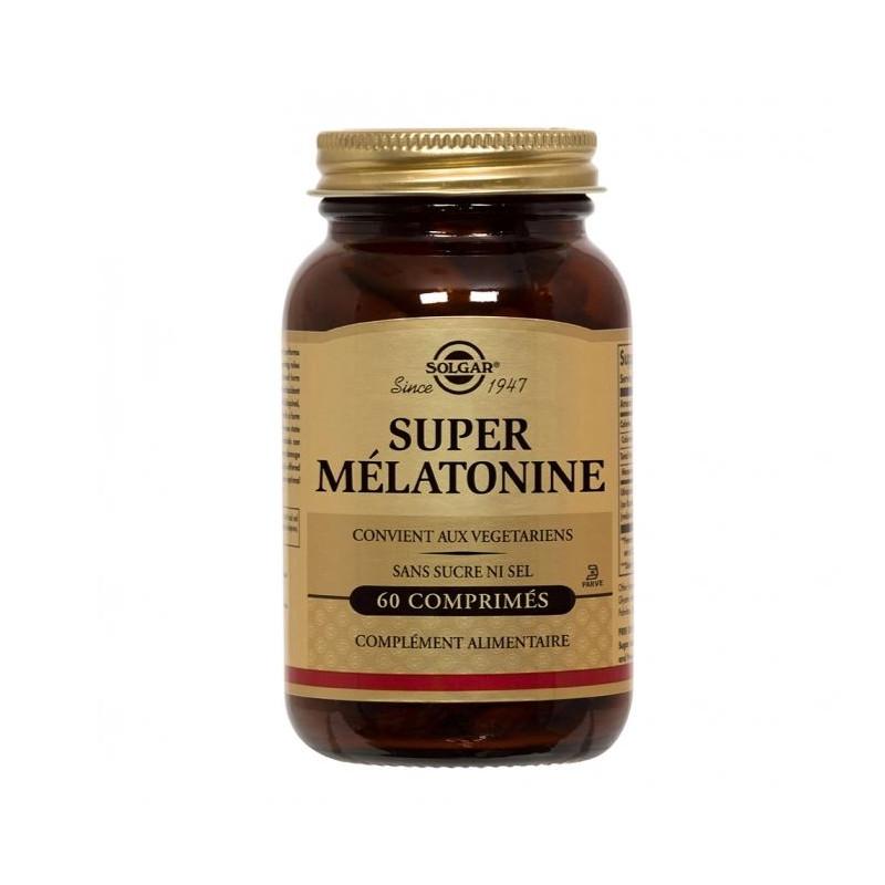 SUPER MELATONINE 1.9 mg 60 COMPRIMES SOLGAR