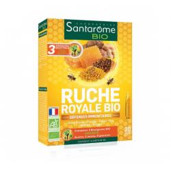 RUCHE ROYALE BIO 20 AMPOULES SANTAROME