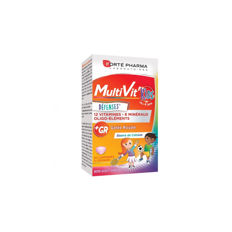 MULTIVIT' KIDS DEFENSES 30 COMPRIMES FORTE PHARMA