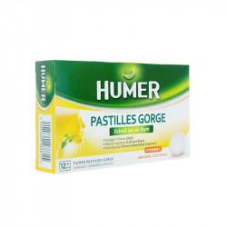 HUMER GORGE Extrait sec de Thym 24 PASTILLES HUMER
