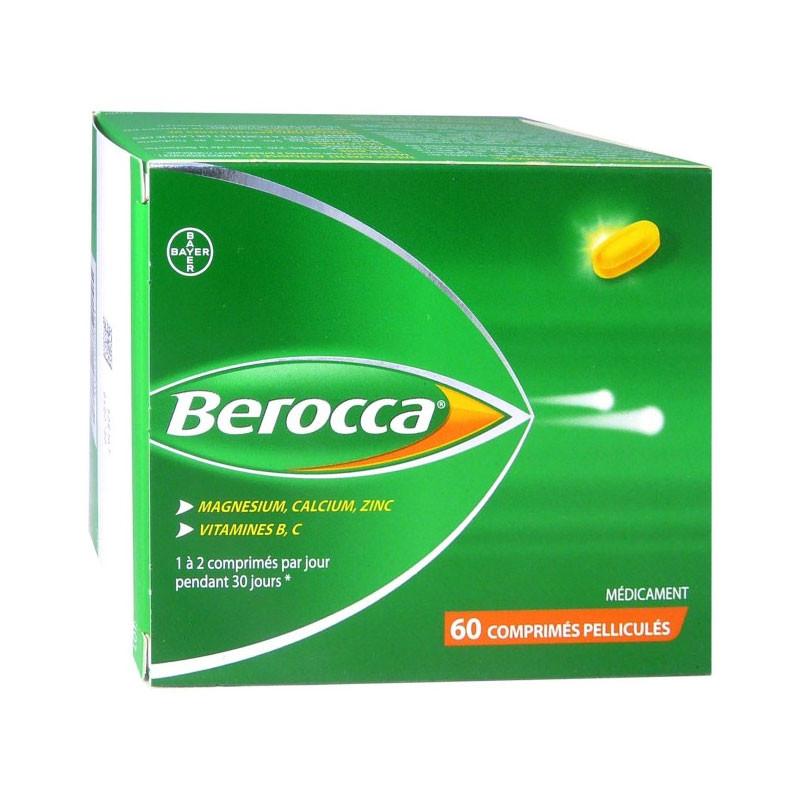 BEROCCA 60 COMPRIMES PELLICULES BAYER