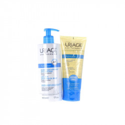XEMOSE BAUME OLEO APAISANT ANTI GRATTAGE 500ML + HUILE LAVANTE 200ML URIAGE