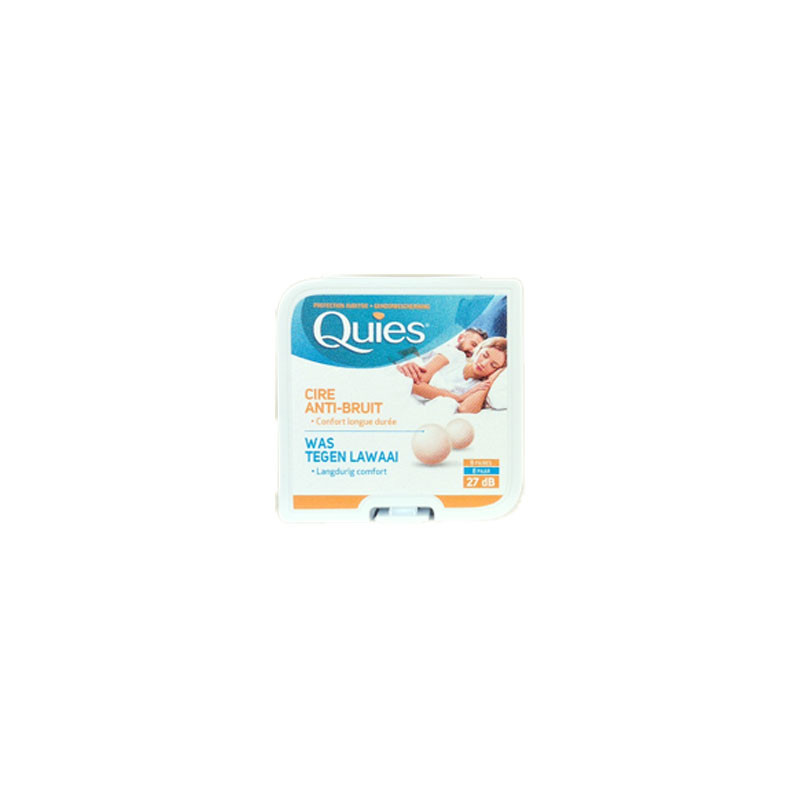 CIRE ANTI BRUIT 27dB 8 PAIRES QUIES
