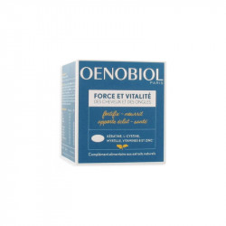 OENOBIOL FORCE VITALITÉ CHEVEUX ONGLES 60 CAPSULES