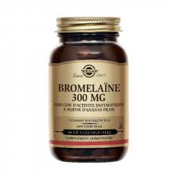 BROMELAINE 300MG 60 gélules végétales SOLGAR