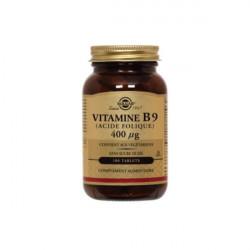 VITAMINE B9 400µg - 100 comprimés SOLGAR