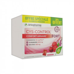 CYS CONTROL FORT CONFORT URINAIRE 30 SACHETS ARKOPHARMA