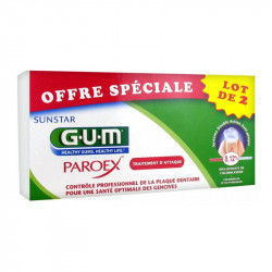 SUNSTAR DENTIFRICE PAROEX LOT DE 2 X 75ML GUM