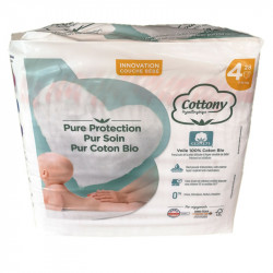COTTONY BIO COUCHES HYPOALLERGENIC TAILLE 4 7-18KG X 28