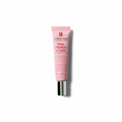 PINK PRIMER & CARE BASE + SOIN MULTI-PERFECTEUR 15ML ERBORIAN