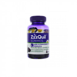 ZZZQUIL SOMMEIL 60 GOMMES VICKS