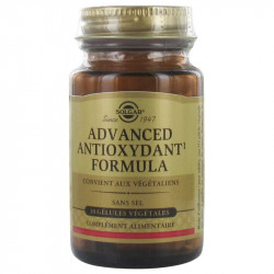 ADVANCED ANTIOXYDANT FORMULA 30 GELULES SOLGAR