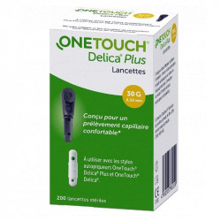 ONETOUCH DELICA PLUS LANCETTES X 200