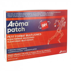 AROMA PATCH 8H PETIT FORMAT MULTI ZONES MAYOLY SPINDLER