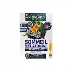 SOMMEIL MELATONINE 20 AMPOULES SANTAROME PHYTO