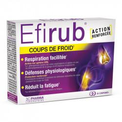 EFIRUB COUPS DE FROID 30 COMPRIMES 3C PHARMA
