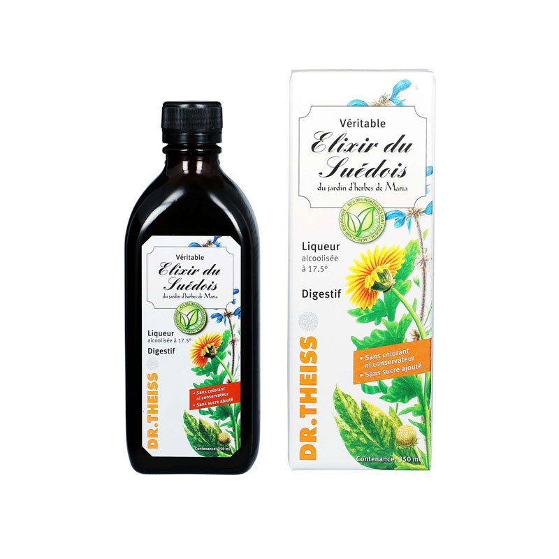ELIXIR DU SUEDOIS 350ML DR THEISS