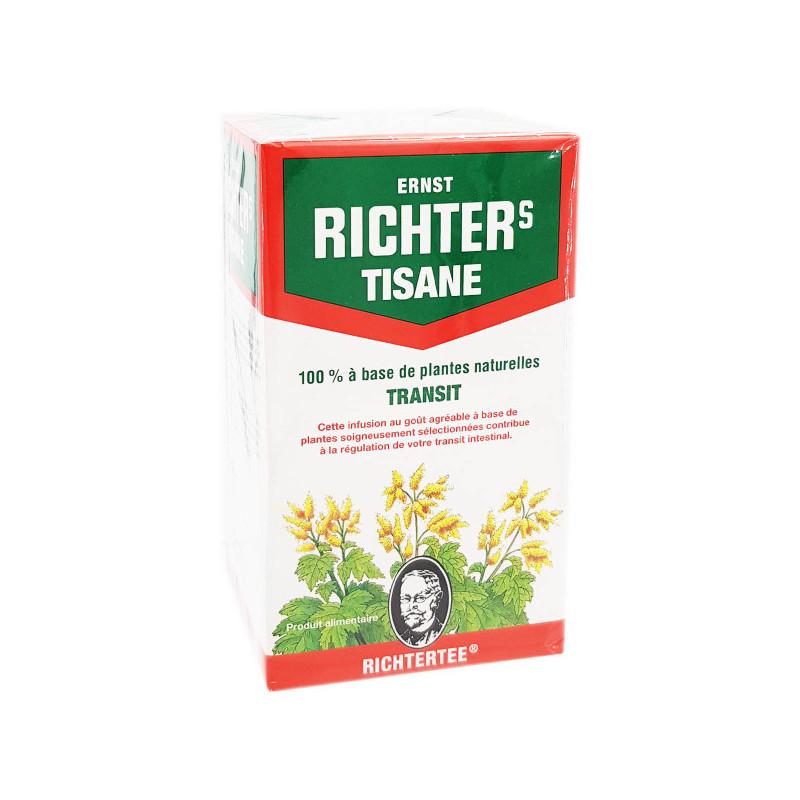 TISANE TRANSIT 20 SACHETS ERNST RICHTERS