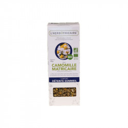 INFUSION CAMOMILLE MATRICAIRE BIO 50G L HERBOTHICAIRE