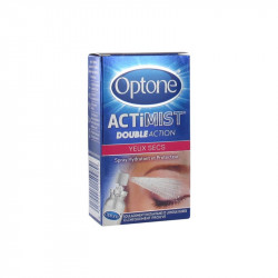 ACTIMIST DOUBLE ACTION SPRAY OCULAIRE YEUX SECS 10ML OPTONE