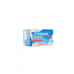 EFFERALGAN 1000MG FRUITS ROUGES 8 COMPRIMES EFFERVESCENTS UPSA