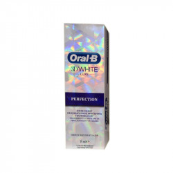 3D WHITE LUXE DENTIFRICE PERFECTION 75ML ORAL B