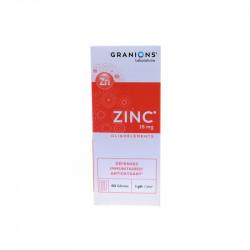 GRANIONS ZINC 15MG OLIGOELEMENTS 60 GELULES