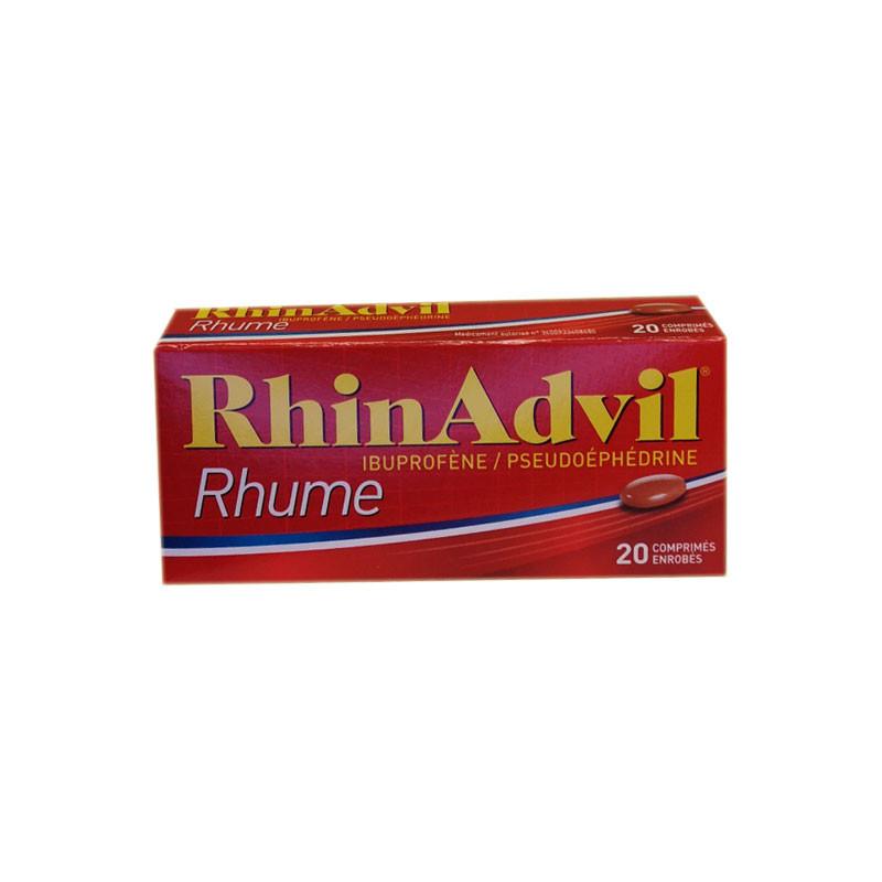 RHINADVIL RHUME 20 COMPRIMES PFIZER