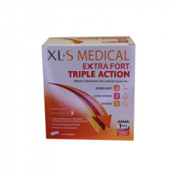 EXTRA FORT TRIPLE ACTION 120 COMPRIMES XLS MEDICAL