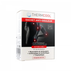 THERMCOOL SACHETS ANTI DOULEUR X10 BAUSCH + LOMB