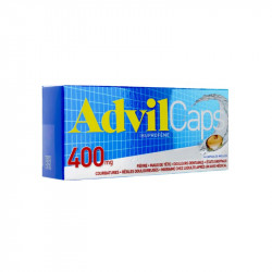 ADVILCAPS 400 MG 14 CAPSULES ADVIL