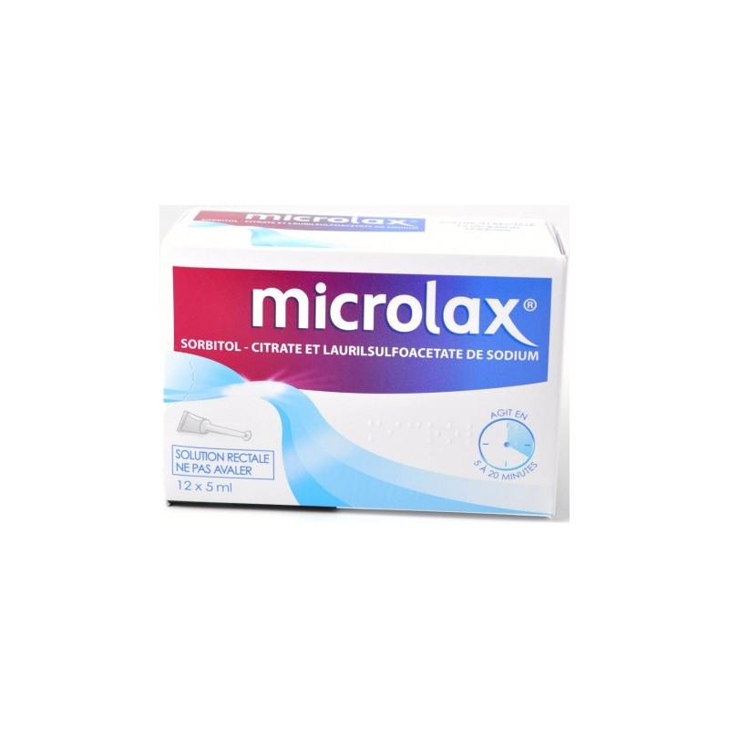 MICROLAX SOLUTION RECTAL 12 UNIDOSES JOHNSON & JOHNSON