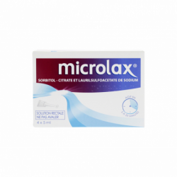 MICROLAX SOLUTION RECTAL 4 UNIDOSES JOHNSON & JOHNSON
