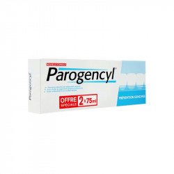 DENTIFRICE PREVENTION GENCIVES LOT DE 2 X  75ml PAROGENCYL