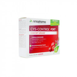 CYS CONTROL FORT CONFORT URINAIRE 10 SACHETS + 5 STICKS ARKOPHARMA