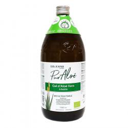GEL D'ALOE VERA Bio & Equitable 1 litre PUR ALOE