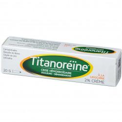 TITANOREINE LIDOCAINE 2% CREME JOHNSON & JOHNSON