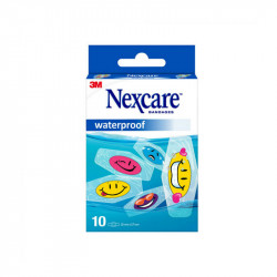 PANSEMENTS WATERPROOF ENFANT X10 NEXCARE