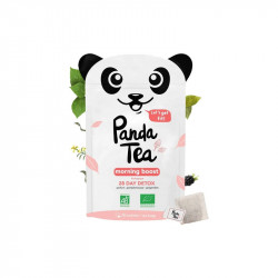 PANDA TEA MORNING BOOST BIO 28 SACHETS