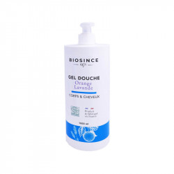 GEL DOUCHE BIO ORANGE LAVANDE 1000ML BIOSINCE 1975