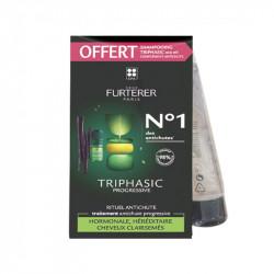 TRIPHASIC PROGRESSIVE RITUEL ANTI CHUTE + SHAMPOOING OFFERT RENE FURTERER