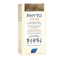PHYTOCOLOR COLORATION PERMANENTE BLOND TRES CLAIR BEIGE 9.8 PHYTO
