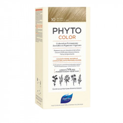 PHYTOCOLOR COLORATION PERMANENTE BLOND EXTRA CLAIR 10 PHYTO