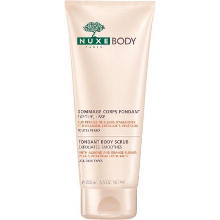 BODY GOMMAGE CORPS FONDANT 200 ML NUXE