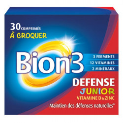 BION 3 DEFENSE JUNIORS BION 30 COMPRIMES