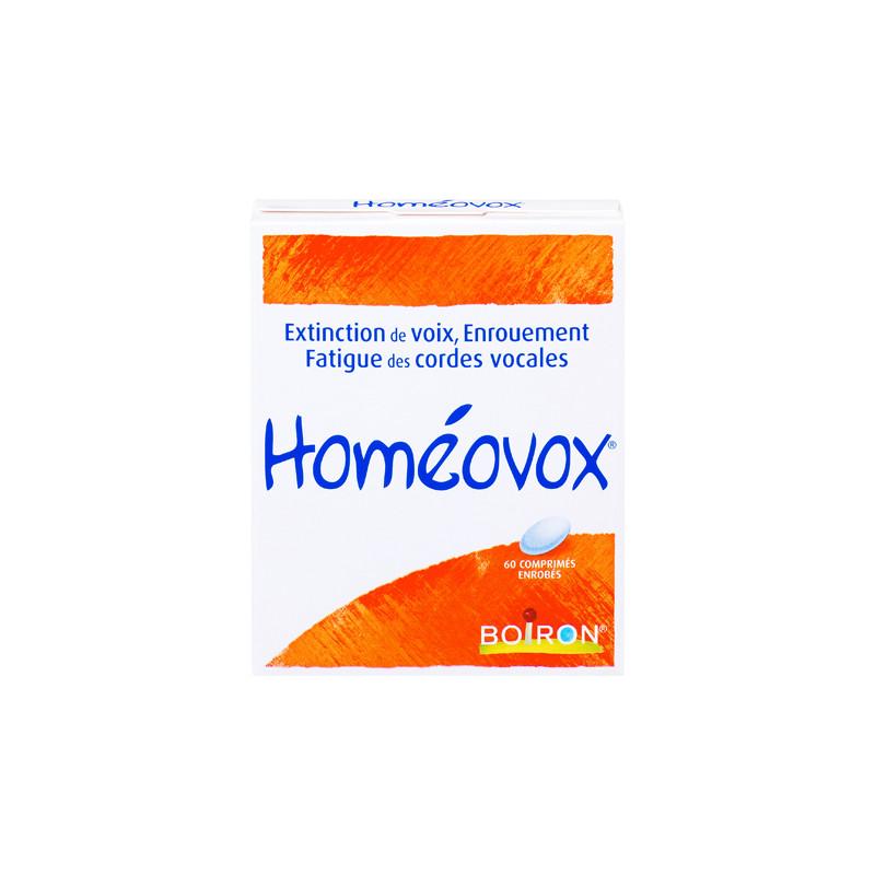 HOMEOVOX 60 COMPRIMES BOIRON
