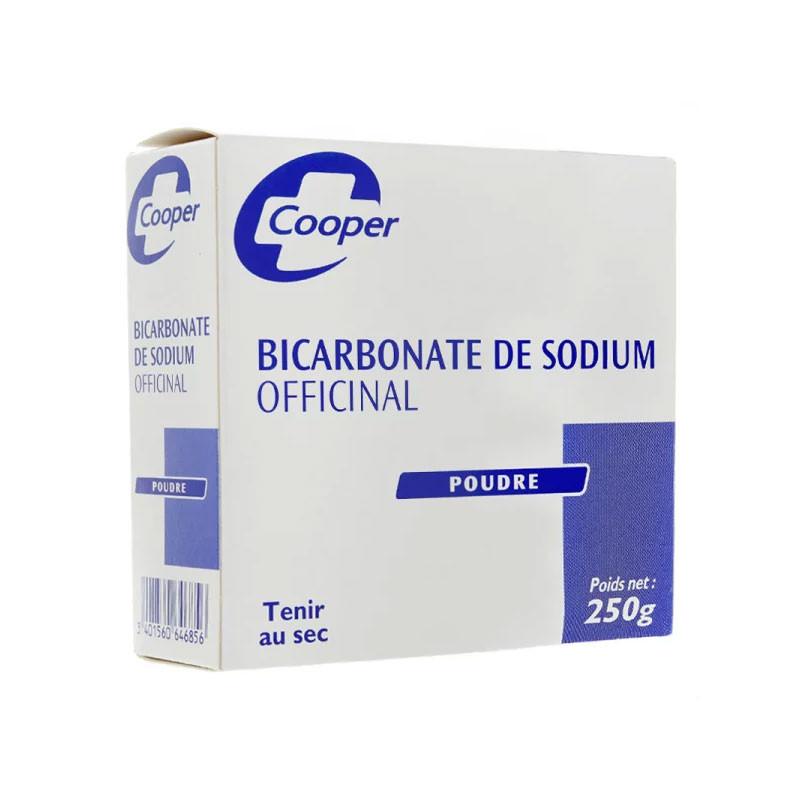 BICARBONATE DE SODIUM OFFICINAL POUDRE 250G COOPER